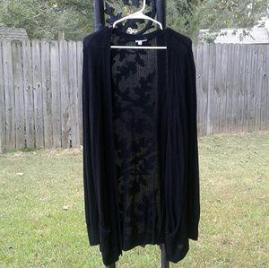 💎5 for $20💎Basic black longline cardigan